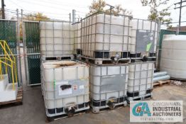 1,000 LITERS / 264 GALLON CAGE ENCLOSED POLY TANKS