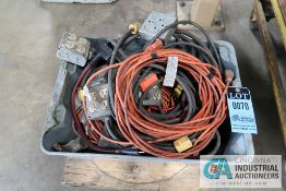 (LOT) ELECTRIC CORDS