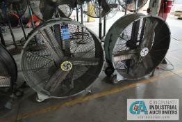 "42"" DIAMETER AIRMASTER BELT DRIVE INDUSTRIAL DUTY DRUM STYLE AIR CIRCULATORS"