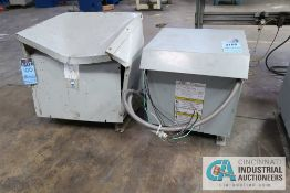 15 KVA JEFFERSON ELECTRIC GENERAL PURPOSE TRANSFORMER AND 30 KVA SLIGHTLY DAMAGED TRANSFORMER