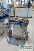 OXY-ACETYLENE CART WITH HOSE, GAGES AND TORCHES