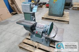 "6"" BELT X 12"" DISC JET MODEL JSG-6DC BENCH MOUNT SANDER / GRINDER **LOADING FEE DUE THE ""ERRA"" GRG"