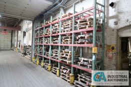 """**SECTIONS 24"""" X 42"""" X 144"""" HIGH TEARDROP STYLE ADJUSTABLE BEAM WIRE DECKING PALLET RACK WITH (24)"""