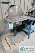 "20"" ELEPHANT MODEL DS-20 FLOOR DISC SANDER / GRINDER; S/N N/A **LOADING FEE DUE THE ""ERRA"" GRG"