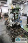 """13"""" DELTA MODEL DP220 STAND MOUNTED DRILL; S/N 95-142, WITH TAPPING HEAD **LOADING FEE DUE THE """""""