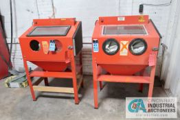 "CENTRAL PNEUMATIC STEEL BLAST CABINETS **OUT OF SERVICE** **LOADING FEE DUE THE ""ERRA"" GRG TRUCKING,"