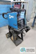180 AMP MILLER DIVERSON 180 TIG WELDER POWER SOURCE; S/N MF360924L, WITH CART, LEADS, AND FOOT PEDAL
