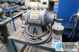 "6"" BALDOR DE BENCH MOUNTED GRINDER"