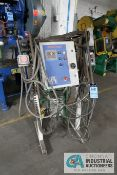 PA INDUSTRIES ADVANTAGE STAND MOUNTED CONTROL STATION; S/N 201203/06748, WITH ELECTRICAL CABINET AND