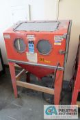 CENTRAL PNEUMATIC NO. 39170 GLASS BEAD BLASTER CABINET, ASSET # 400099 **LOADING FEE DUE THE ""