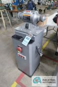 "8"" JET MODEL JBG-8A DE MOUNTED GRINDER WITH JET MODEL JDCS-505 METAL DUST COLLECTOR CABINET"