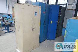 MISCELLANEOUS TWO-DOOR STORAGE CABINETS
