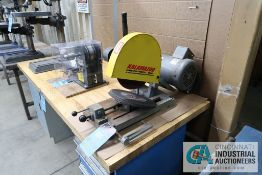 "10"" KALMAZOO MODEL K10B BENCH ABRASIVE CUT-OFF SAW"