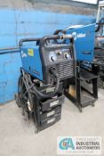 211 AMP MILLER MILLERMATIC 211 CART MOUNTED MIG WELDING POWER SOURCE; S/N MF381322N WITH BUILT IN