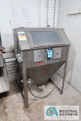 "MAC-BLAST MODEL 3-36X24 DRY BLAST CABINET; S/N N/A, ASSET # 156706 **LOADING FEE DUE THE ""ERRA"""