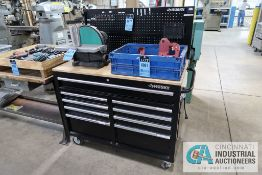 SEVILLE FIVE-DRAWER ROLLING TOOL CHEST