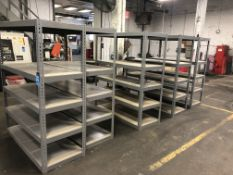 """SECTIONS 24"""" X 60"""" X 72"""" HIGH STEEL RACKING"""