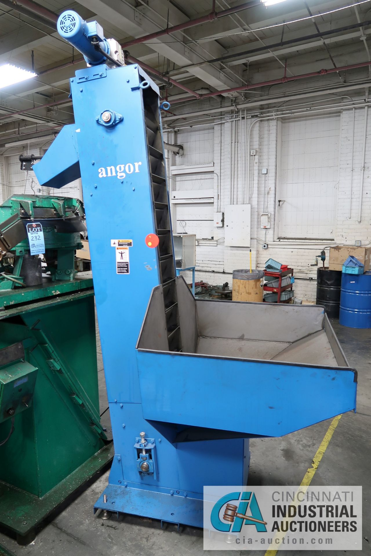 """10"""" X 78"""" ANGOR MODEL AMH600 SERIES BUCKET LOADER; S/N Z01728392, WITH PENTA-DRIVE DC MOTOR SPEED - Image 2 of 5"""