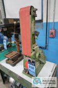 "4"" CENTRAL MACHINERY VERTICAL BELT BENCH SANDER"