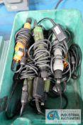 (LOT) DIXON STRAIGHT SHAFT ELECTRIC SCREWDRIVERS