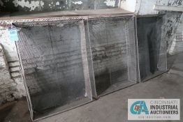 "33"" X 47"" X 8"" DEEP WIRE MESH WASH BASKETS"