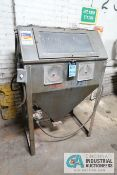 "MAC-BLAST MODEL 3-36X24 DRY BLAST CABINET; S/N N/A, ASSET # 156707 **LOADING FEE DUE THE ""ERRA"""