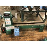 """12"""" x 18"""" GRIZZLY MODEL T25920 BENCH VARIABLE SPEED WOOD LATHE; S/N 201701082"""
