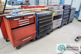 MISCELLANEOUS ROLLING TOOL CHESTS