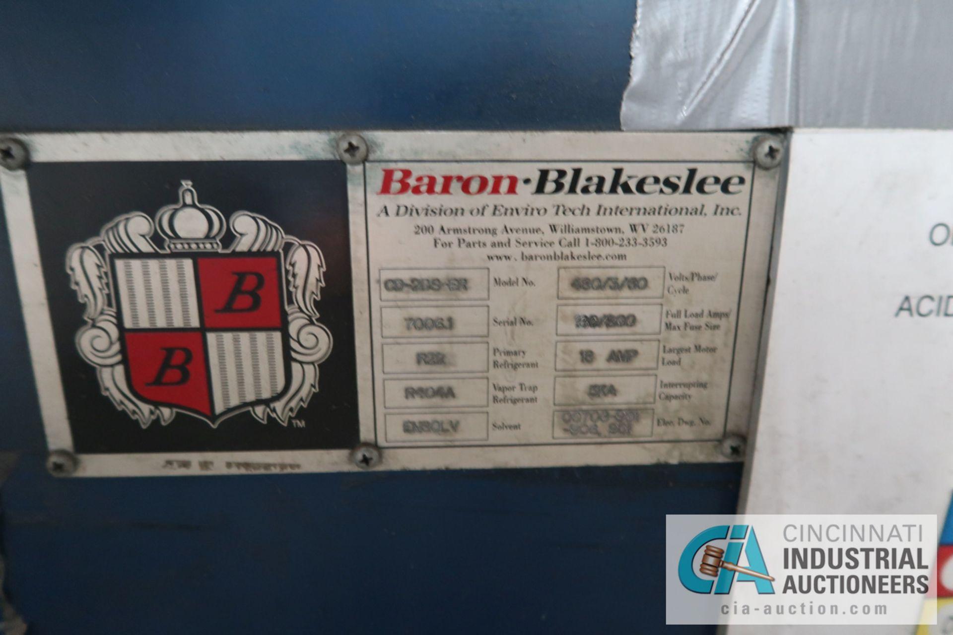 """BARON-BLAKESLEE MODEL CD-20S-ER VAPOR DEGREASER; S/N 70061, 30"""" X 80"""" X 72"""" DEEP - Image 4 of 15"""