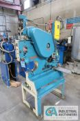 "PEDDINGHAUS MODEL 210/11 STAND MOUNTED IRONWORKER; S/N FF340, SINGLE END PUNCH TO 2-1/2"" DIAMETER,"