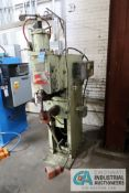 50 KVA TAYLOR-WINFIELD MODEL ENC-12-50 AIR OPERATED SPOT WELDER; S/N 63214, WITH TECHNITRON MCS 2109