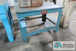 """L-SHAPED HD SPECIAL PURPOSE MACHINE TABLE **LOADING FEE DUE THE """"ERRA"""" GRG TRUCKING, $50.00, PRICING"""