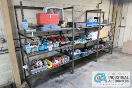 """SECTIONS 24"""" X 48"""" X 75"""" HIGH BOLT TOGETHER STEEL SHELVING"""