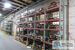 """**SECTIONS 24"""" X 42"""" X 144"""" HIGH TEAR DROP STYLE ADJUSTABLE BEAM WIRE DECKING PALLET RACK WITH ("""