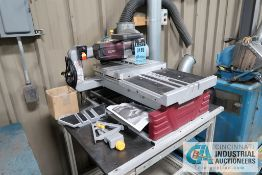 "10"" CHICAGO ELECTRIC INDUSTRIES TILE/ BRICK SAW **LOADING FEE DUE THE ""ERRA"" GRG TRUCKING, $40.00,"