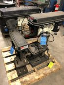 "JET BENCH TYPE DRILL PRESSES ON SKIDS; (2) AT 15"" AND (1) AT 12"""
