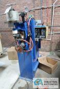 50 KVA TAYLOR-WINFIELD MODEL EBA3-8-50 AIR OPERATED SPOT WELDER; S/N 77480-C, 220 VOLTS, 60 CYCLE,