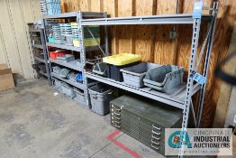 SECTIONS MISCELLANEOUS SIZE STEEL SHELVING