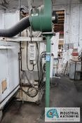 AER CONTROL SYSTEMS MODEL CM FLOOR MOUNTED FUME COLLECTOR; S/N 3990-H, 3 HP MOTOR