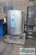 """24"""" DIAMETER CUDA MODEL 695 HEATED STAINLESS STEEL ROTARY PARTS WASHER; S/N 100597, WITH (4) 24"""""""