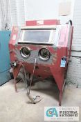 "WATERLOO DRY BLAST CABINET; S/N N/A, ASSET # 40085 **LOADING FEE DUE THE ""ERRA"" GRG TRUCKING, $75."