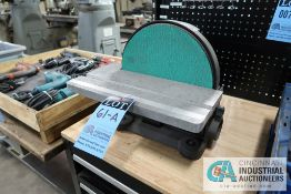 "12"" CENTRAL MACHINERY BENCH DISC SANDER"