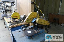 "14"" KALMAZOO BENCH MOUNTED ABRASIVE CUT-OFF SAW"