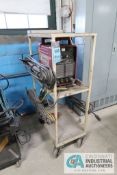 THERMAL DYNAMICS MODEL 300GTS DC INVERTER TIG WELDER; S/N Y221016I81010, WITH CART, LEADS AND FOOT