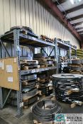 """(3) SECTIONS - (2) 96"""" X 36"""" X 112"""" AND (1) 96"""" X 36"""" X 96"""" HEAVY DUTY ADJUSTABLE BEAM PALLET RACKS"""