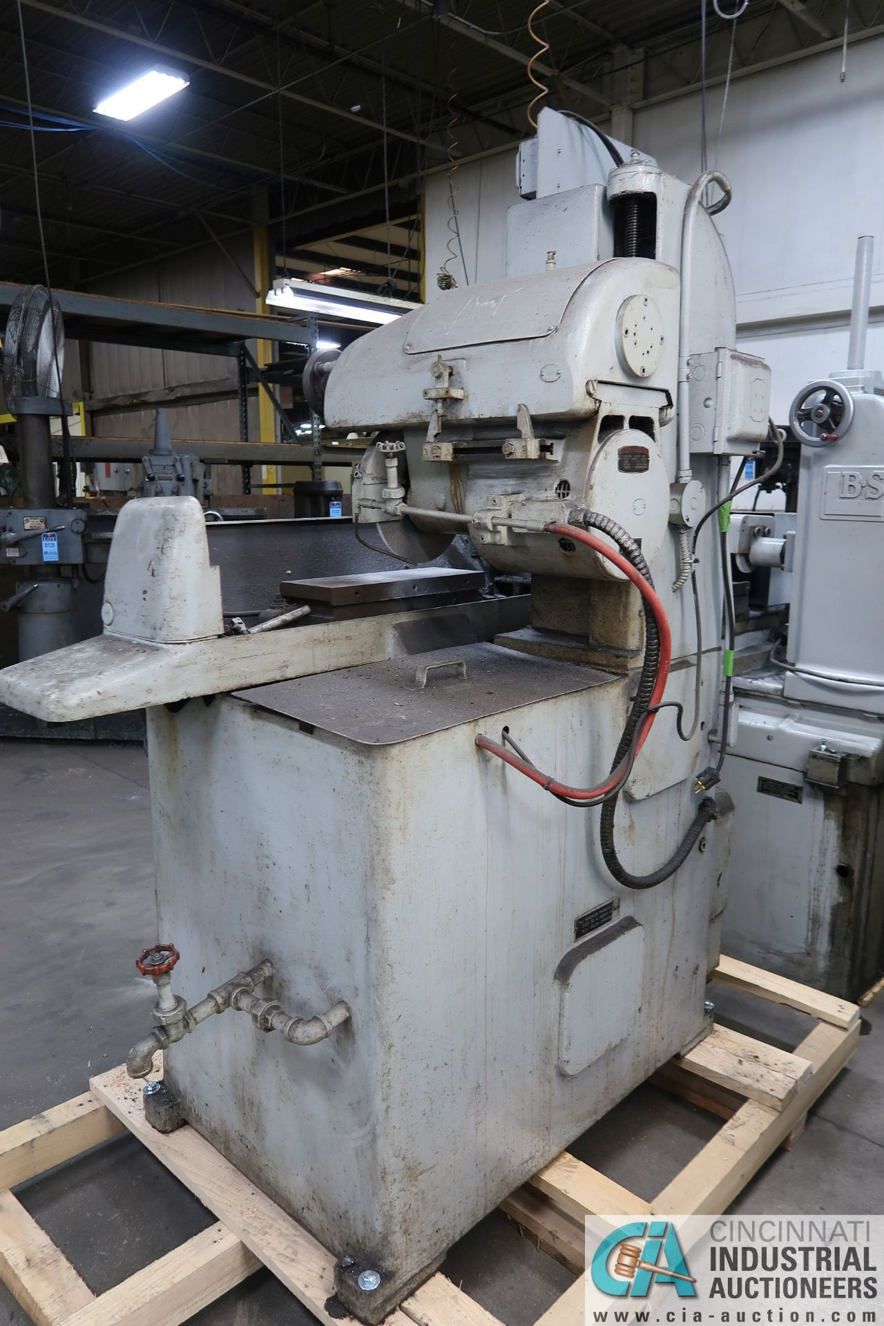 """6"""" X 18"""" THOMPSON HAND FEED SURFACE GRINDER; S/N F46258, 220 VOLTS, 3-PHASE, 1-1/2 HP MOTOR - Image 9 of 10"""