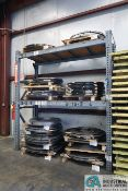 """**SECTION 96"""" X 42"""" X 114"""" HEAVY DUTY ADJUSTABLE BEAM PALLET RACKS **DELAYED REMOVAL -PICKUP 12-16-"""