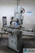 "6"" X 18"" PARKER-MAJETSTIC NO. 2 HAND FEED SURFACE GRINDER; S/N ____, 6"" X 18"" WALKER MAGNETIC CHUCK,"