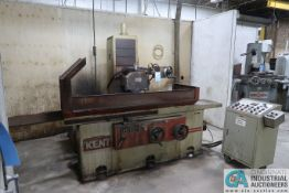 """16"""" X 40"""" KENT MODEL KGS410AHD HYDRAULIC SURFACE GRINDER; S/N 890871, PUSH BUTTON CONTROL CABINET"""