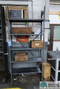 SECTIONS MISCELLANEOUS SIZE LIGHT DUTY STEEL SHELVING